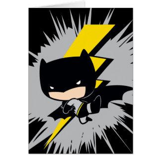 Chibi Batman Blitz-Tritt Karte