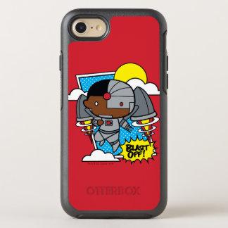 Chibi Cyborg starten weg! OtterBox Symmetry iPhone 8/7 Hülle