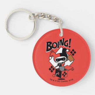 Chibi Harley-Quinn-In-EIN-Box mit Hammer Schlüsselanhänger