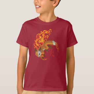 Chibi Kaius die Ausrüstung, Wächter des Feuers, T-Shirt
