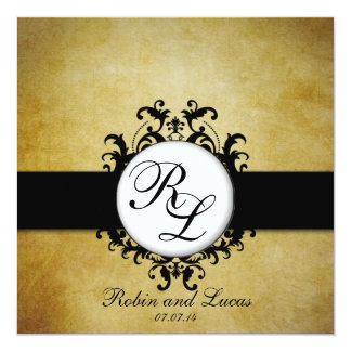 Shop Zazzle's selection of monogram wedding invitations for your special day!