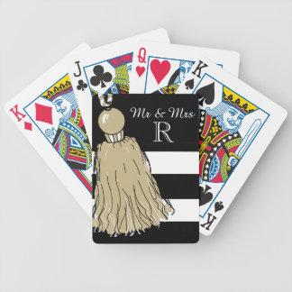 """CHIC, das CARDS_ """" Herr u. Frau"""" PILZ-QUASTEN Spielkarten"""
