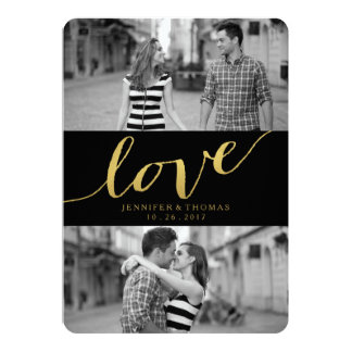 CHIC-GOLDLiebe %PIPE% SAVE THE DATE Karte