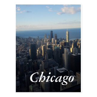 Chicago-Ansichtpostkarte Postkarte