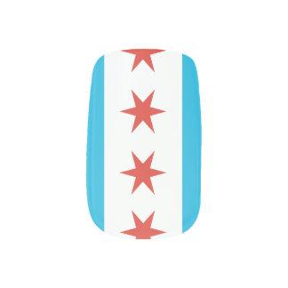 Chicago-Flagge Nageldeko