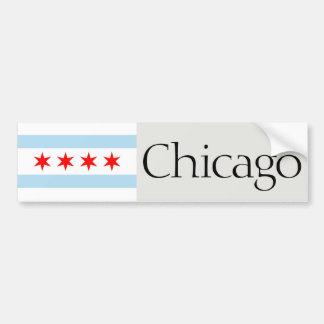Chicago-Flaggen-Autoaufkleber Autoaufkleber