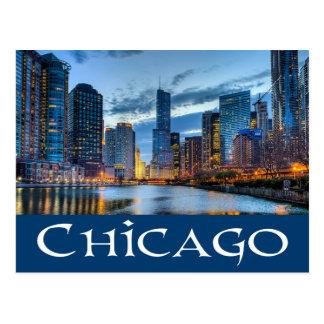 Chicago Illinois Skyline USA - Chicago am Postkarten
