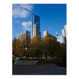 Chicago - Jahrtausend-Park Postkarte