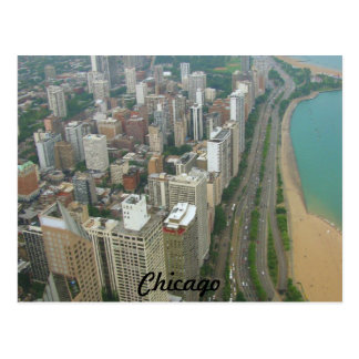 Chicago Postkarte