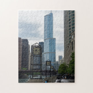 Chicago River Weg Puzzle