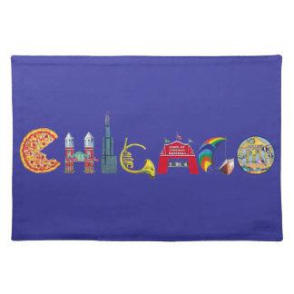 Chicago-Tischsets Tischset