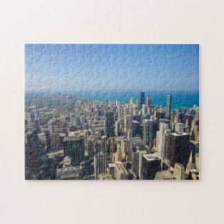 Chicago von oben puzzle