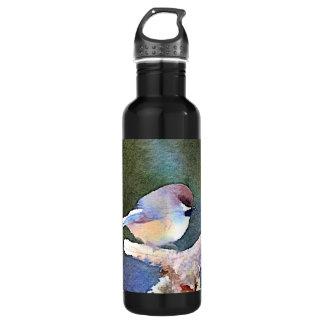 Chickadee in der Dämmerung Trinkflasche