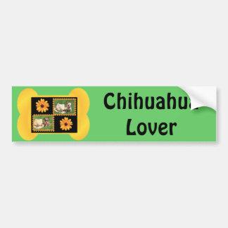 Chihuahua-Liebhaber-Freude Autoaufkleber