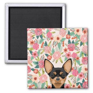 Chihuahua-Magnet Quadratischer Magnet