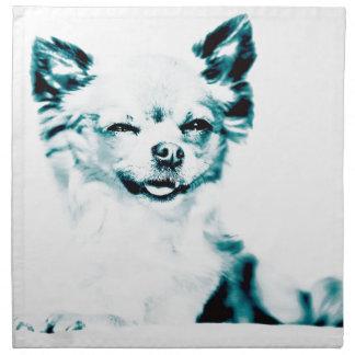 Chihuahua Pop Art Style Bild Serviette