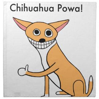 Chihuahua Powa! Stoffserviette
