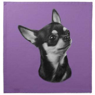 Chihuahua Stoffserviette