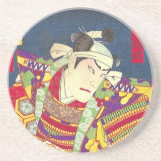 Chikanobu Samurai-1:5 Sandstein Untersetzer