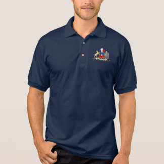 Chilenisches Wappen Polo-Shirt Polo Shirt