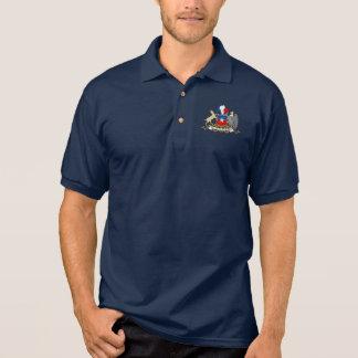Chilenisches Wappen Polo-Shirt Poloshirt