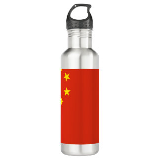 China-Flagge Trinkflasche