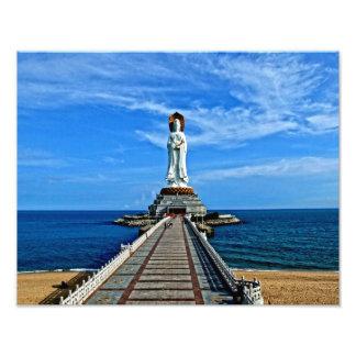 China Sculpture Fotodruck