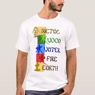Chinese 5 Elemente T-Shirt