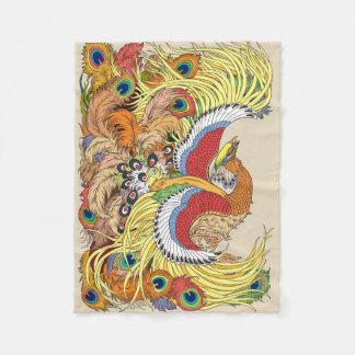 Chinese Phoenix Fleecedecke