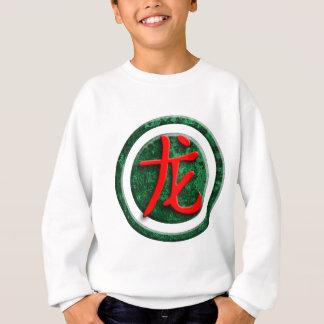 chinese sign dragon sweatshirt
