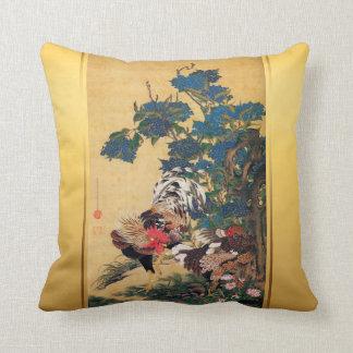 Chinesische japanische Kunst Pillow1 des Kissen