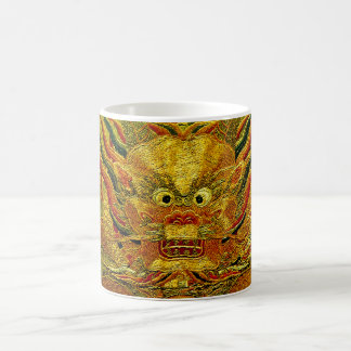 Chinesische Ming-Dynastie Stickerei des goldenen Tasse