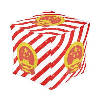 Chinesische Streifenflagge Hocker