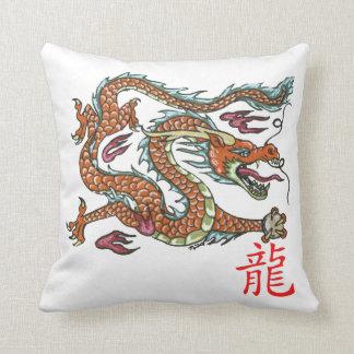 Chinesisches Drache-Kissen Kissen