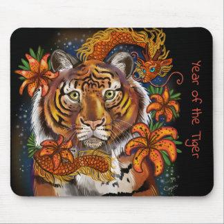 Chinesisches Jahr des Tigers Mauspad