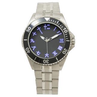 Chinesisches Schriftzeichen Armbanduhr