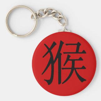 Chinesisches Schriftzeichen für Affen Schlüsselanhänger