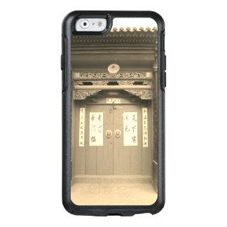 Chinesisches traditionelles hölzernes Tor und OtterBox iPhone 6/6s Hülle