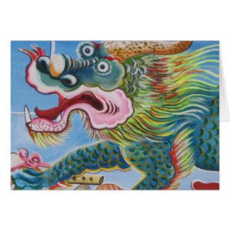 Chinesisches Wandgemälde Karte