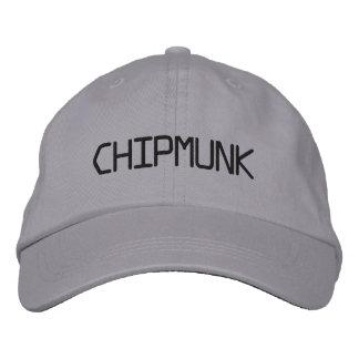 CHIPMUNK BESTICKTE KAPPE