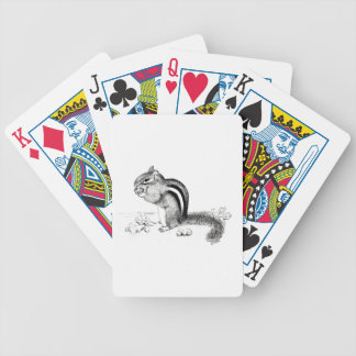 Chipmunk Bicycle Spielkarten