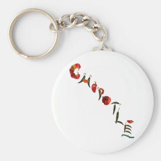 Chipotle Chili-Paprikaschoten Schlüsselanhänger