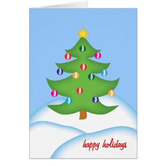 Chiropraktik-Weihnachtskarte Karte