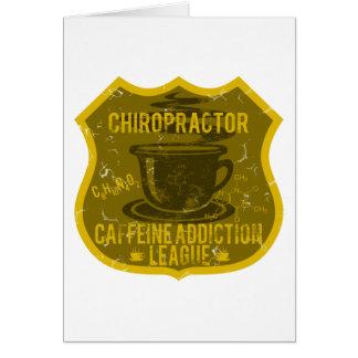 Chiropraktor-Koffein-Sucht-Liga Karte