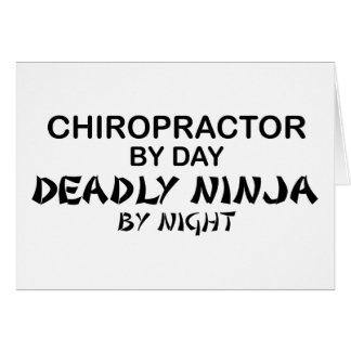 Chiropraktor tödliches Ninja bis zum Nacht Karte