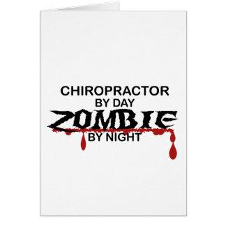 Chiropraktor-Zombie Karte