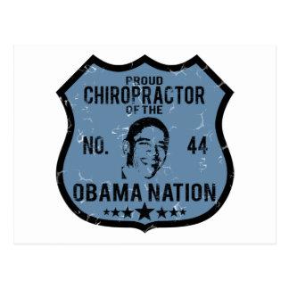 Chiropraktorobama-Nation Postkarte
