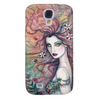 Chloris-Göttin von Blumen 3G iPhone Fall Galaxy S4 Hülle