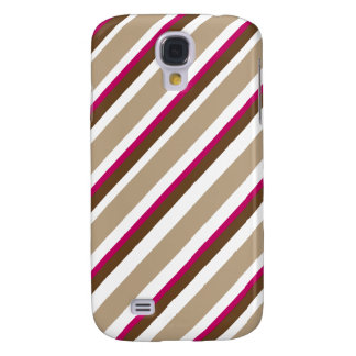 Choco Kirschsüßigkeit Stripes Kasten Galaxy S4 Hülle