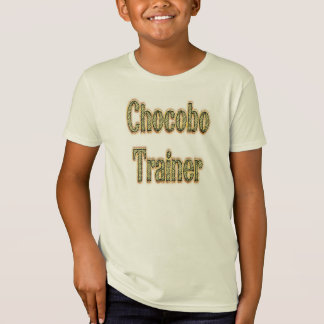 Chocobo Trainer-Gold T-Shirt